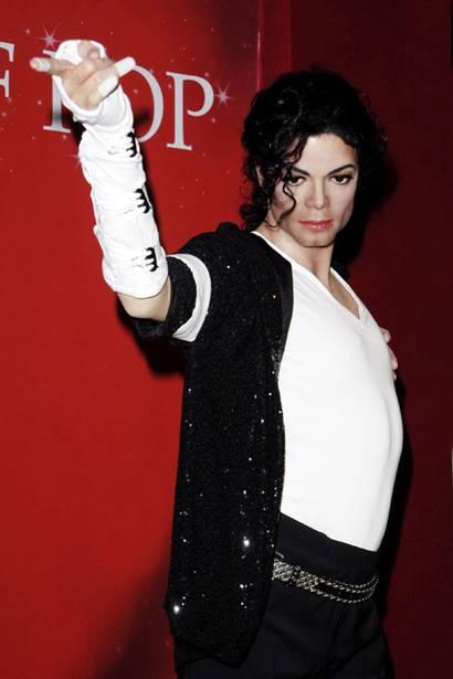 MJ waxwork